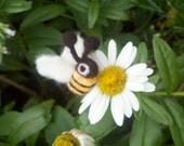 felted bees  reserve for Susan K