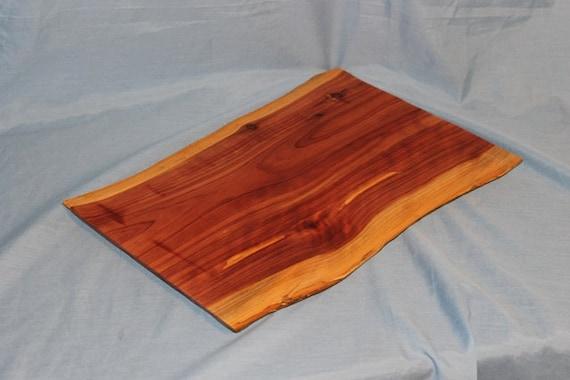 Rustic Eastern Red Cedar Cutting Board or Serving Tray, Item 79
