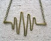 HALF OFF brain waves eeg necklace