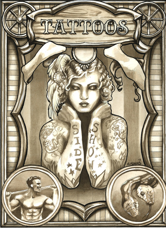 Vintage Tattoo Poster 59