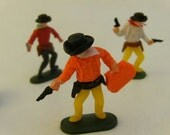Western Cowboy Action Figures-Cake Decorations