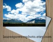 Colorado Sky Greeting Card - 5x7 Photo Card