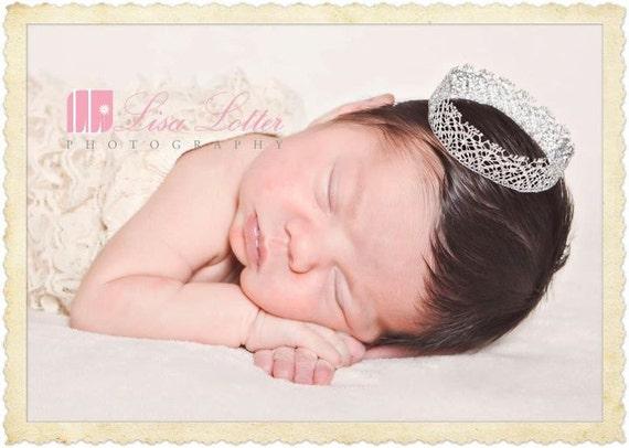 SALE-mini crown for newborn
