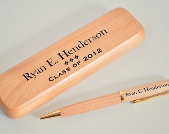Personalized Engraved Pen Set Perfect Graduation Fathers Day Gift