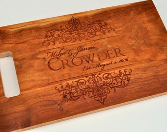 personalized cutting board laser engraved x by mrcwoodproducts, Kitchen design