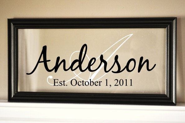 Personalized Picture Frame With Family Name Quote Family: Personalized Family Name Sign Picture Frame 11x21