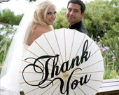 Hand-Painted Thank You Parasol- most popular