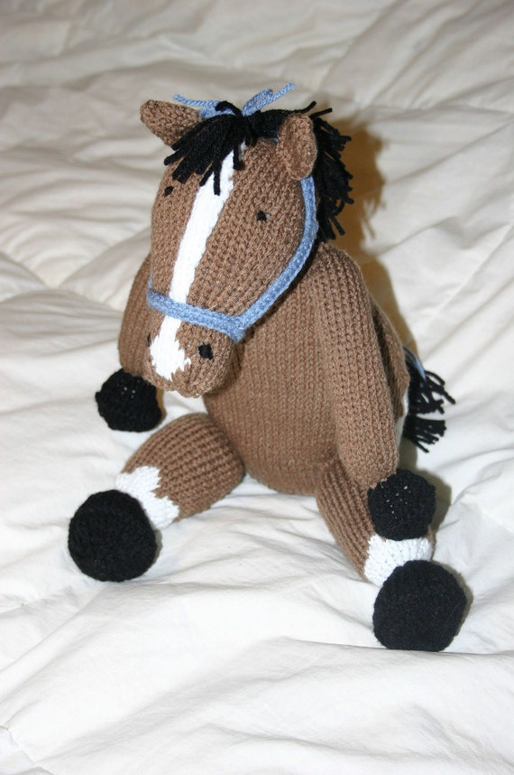 Hold: Knit Toy Horse