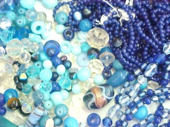 Beautiful Baubles Vintage Estate Glass Beads For Jewelry Artist