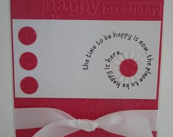 Handmade Happy Birthday Card 005