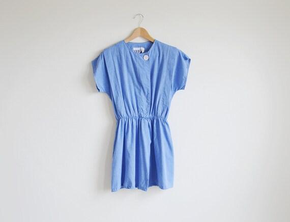 Vintage sky blue light weight summer dress.
