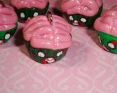 Zombie Cupcake Kawaii Cute Charm