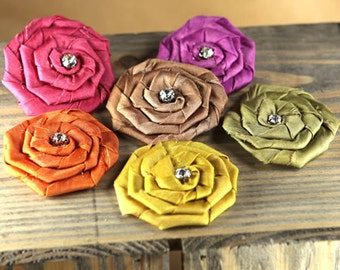 Prima Flowers: Allure  -  Jewel Mix fabric flowers