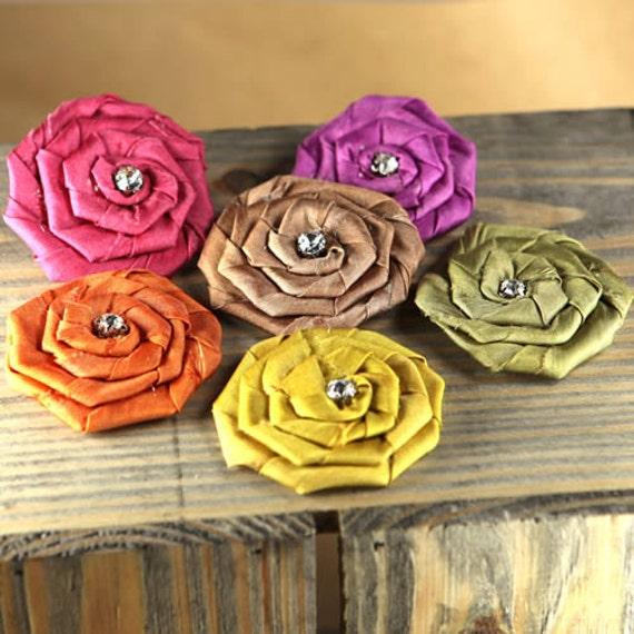 Prima Flowers: Allure  -  Jewel Mix fabric flowers