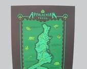 appalachian trail map - bk