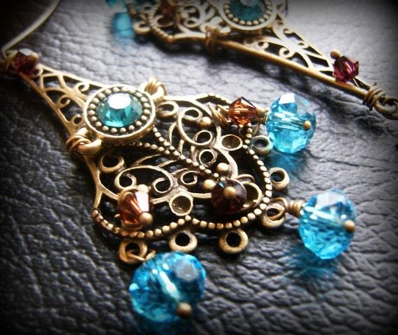 La Gitana Romantica Chandelier Earrings