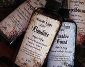 HOLIDAY SALE Boudoir... Body Oil Spray - French Vanilla Amber and Mysterious Woods