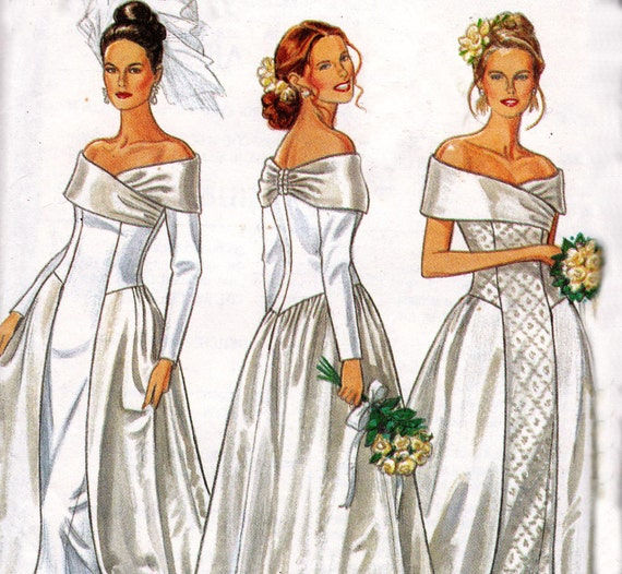 Sewing Pattern New Look 6686 Wedding Dresses Size 6 -16 UNCUT FF