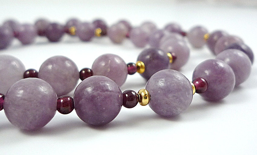 Lilac & Lavender: Vintage Gemstone Clip Art