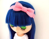 Blythe Clothes - Headband - Pink - Made to order