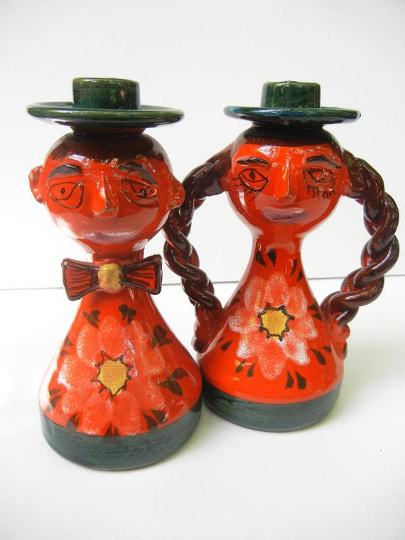 Candle Holding Couple