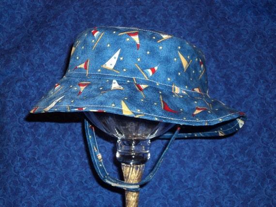 Nautical Baby Boy Bucket Hat