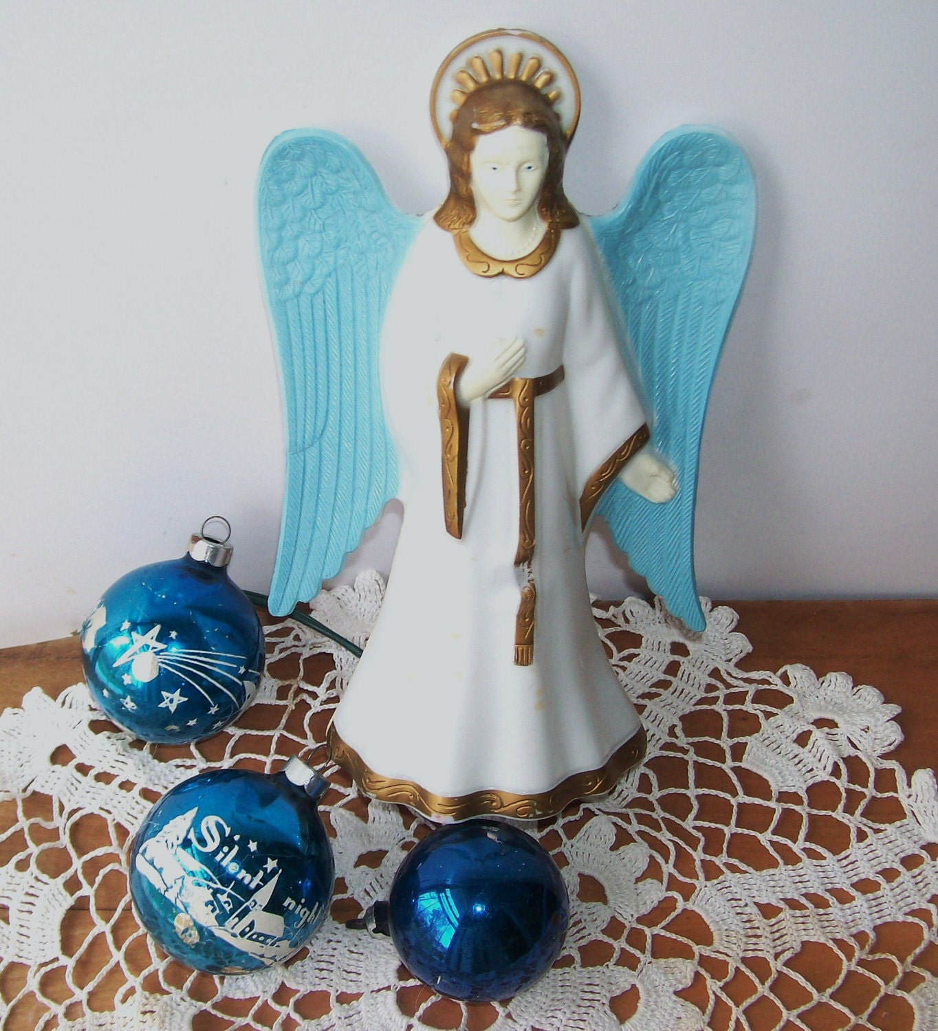 Vintage Angel Tree Topper 1950s Christmas SALE by ...