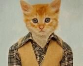 Tommy C., School Portrait - 5 X 7 Fine Art Print