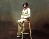 Portrait of Jerry, 1975 - Fine Art Print 5 X 7