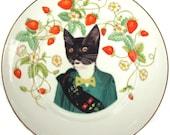 "Kitty Scout Portrait Plate 7.5"""