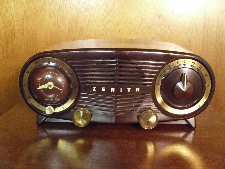 Amazon.com: Zenith Z125S AM/FM Clock Radio with Soothing ... |Zenith Clock Radio