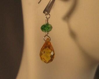 Gemstone Drop Earrings,dangle earrings,gemstone earrings,silver earrings,crystal earrings, gemstone jewelry, silver jewelry, crystal jewelry