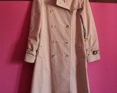 Reserved for VickyTheVintBint, Vintage Burberry Coat small size