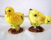 Sale Vintage Japan Spring Easter Chicks Salt and Pepper Shakers Our Own Import