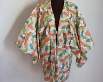 Vintage Kimono / Haori / Short Kimono Robe