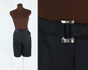 Vintage Escada / High Waist Shorts / Escada Shorts