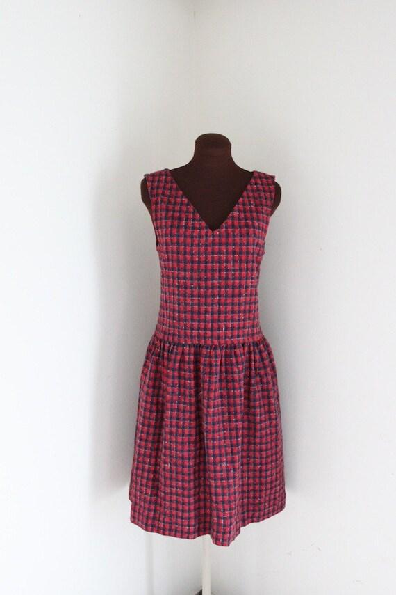 RESERVED SALE Lanz Dress / Jumper Dress / 1980s Dress (m)