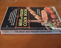Vintage Cook Book Meat and Poultry Cook Book By Beth McLean and Thora Campbell