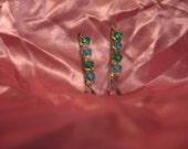 Bejeweled blues and greens bobbi pin set