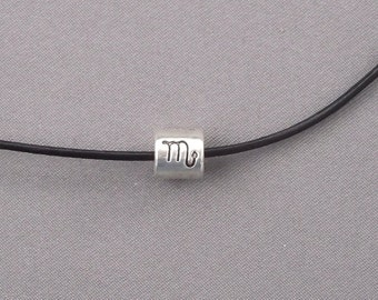 Zodiac Scorpio Bead Necklace