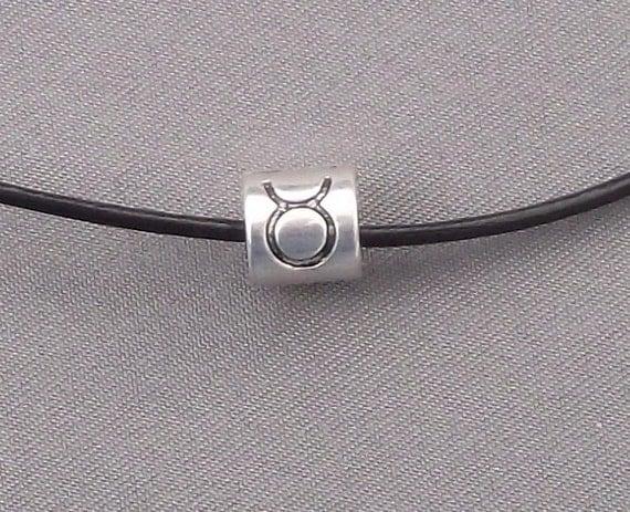 Zodiac Taurus Bead Necklace