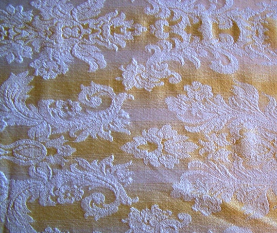 Vintage Silk Upholstery Fabric