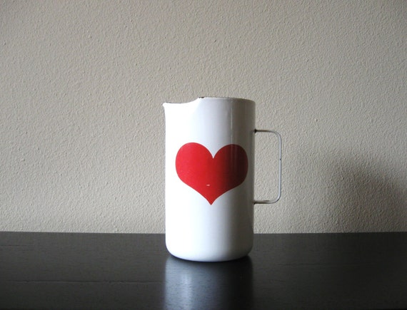 kaj franck finel heart pitcher