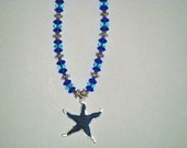 90% Off SALE - Starfish Necklace:  Hand-Made Jewelry By T.L.C.