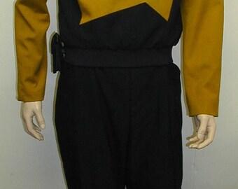 Star Trek TNG Starfleet Uniform Bibbed Pants Costume Prop