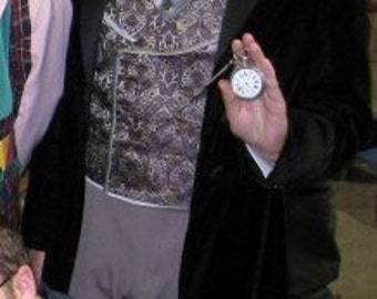 Dr. Who 8th Dr. Paul McGann Costume Frock Coat Prop