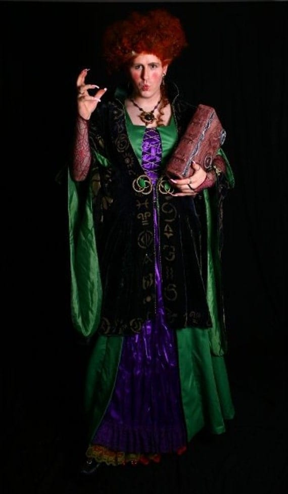 Hocus Pocus Bette Midler Winifred ROBE Costume Prop