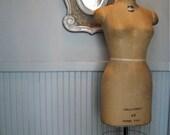 Vintage Superior dress form mannequin store display