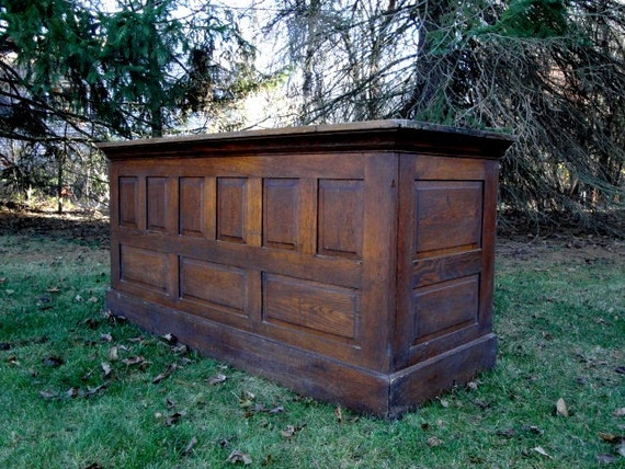 Antique Oak Store Counter By Plainandelegant On Etsy