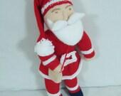 Hand Knit Toys - Christmas Santa Doll Toys - Santa Claus Doll - Christmas gift  - Kids Gift